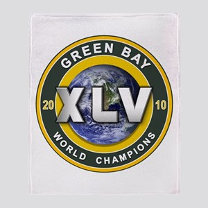 Green Bay 2010 World Champs Throw Blanket