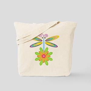 Wacky Dragonfly Tote Bag