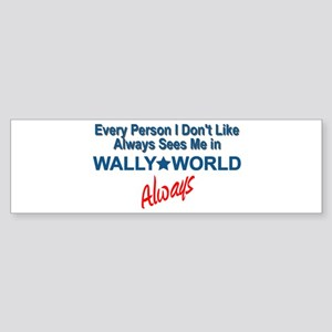 Wally World Sticker (Bumper)