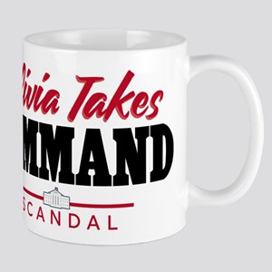 Scandal Olivia Takes Command Mugs