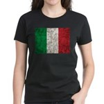 Italy Flag Women's Dark T-Shirt