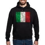 Italy Flag Hoodie (dark)