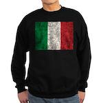 Italy Flag Sweatshirt (dark)