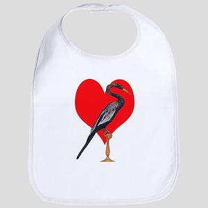 Snake Bird, Love Bib