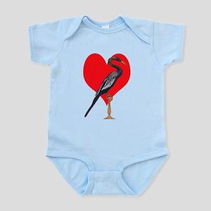Snake Bird, Love Infant Bodysuit