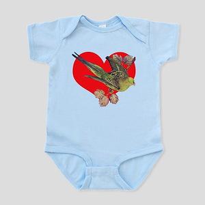 Parakeet Love Infant Bodysuit