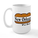 Poboy Large Mug