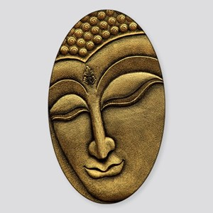 Buddha Sticker (Oval)