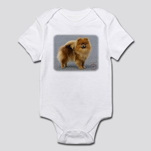 Pomeranian 9R042D-22 Infant Bodysuit