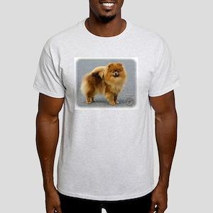 Pomeranian 9R042D-22 Light T-Shirt