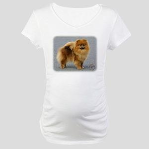 Pomeranian 9R042D-22 Maternity T-Shirt