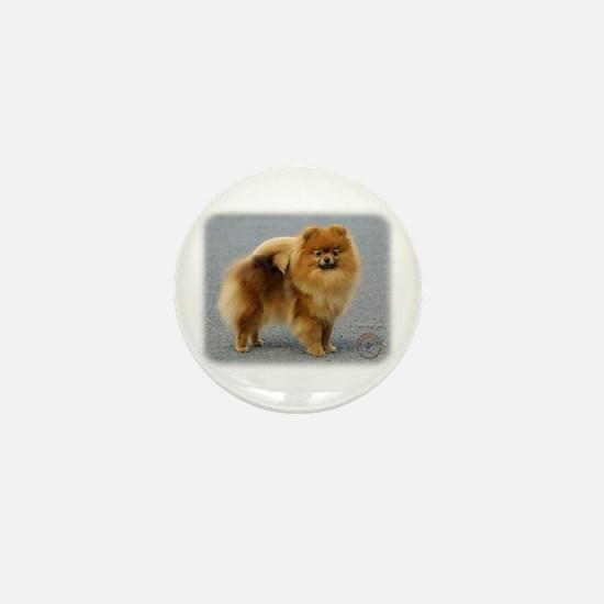 Pomeranian 9R042D-22 Mini Button