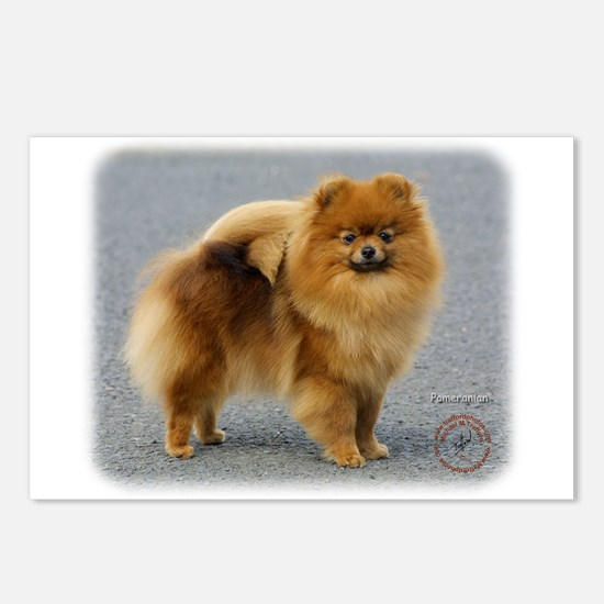 Pomeranian 9R042D-22 Postcards (Package of 8)