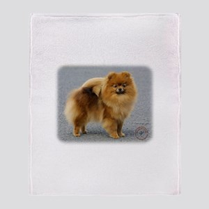 Pomeranian 9R042D-22 Throw Blanket