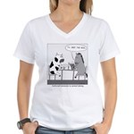 Awkward Moments in Animal Dating Women's V-Neck T-