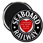 Seaboard Railway Magnet