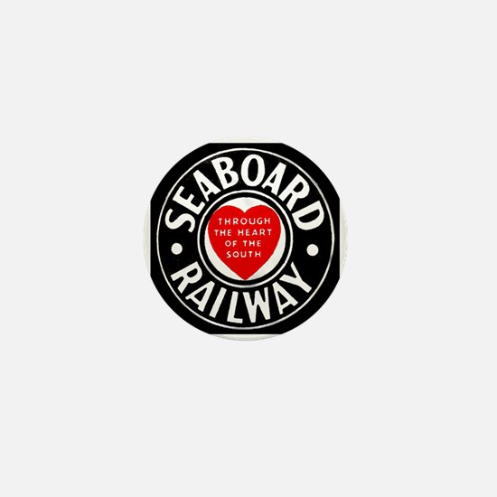 Seaboard Railway Mini Button