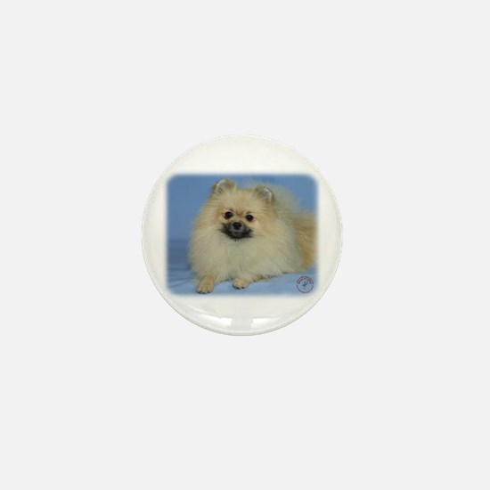 Pomeranian 9W042D-113 Mini Button