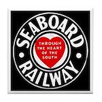 Seaboard Railway Tile Coaster