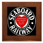 Seaboard Railway Framed Tile
