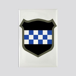 Checkerboard Rectangle Magnet