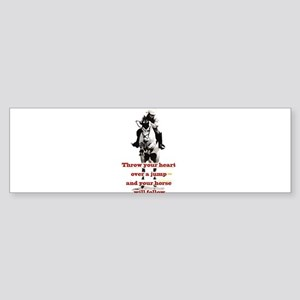 Show Jumper Sticker (Bumper)