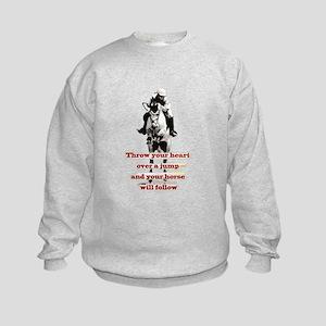 Show Jumper Kids Sweatshirt