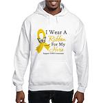 COPD Ribbon Hero Hooded Sweatshirt