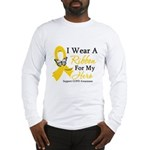 COPD Ribbon Hero Long Sleeve T-Shirt