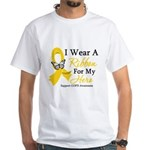 COPD Ribbon Hero White T-Shirt