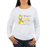 COPD Ribbon Hero Women's Long Sleeve T-Shirt