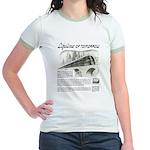 Seaboard Railway Jr. Ringer T-Shirt