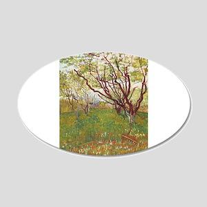 Cherry Tree 22x14 Oval Wall Peel