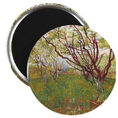 "Cherry Tree 2.25"" Magnet (100 pack)"