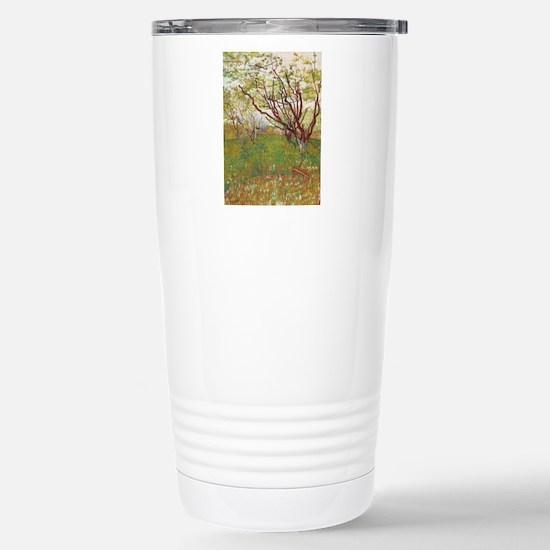 Cherry Tree Stainless Steel Travel Mug