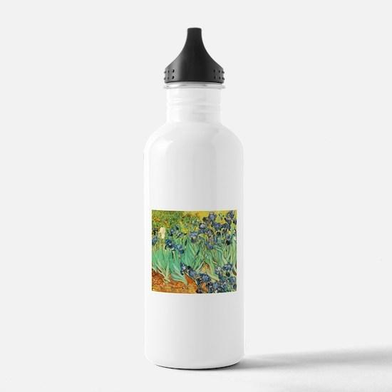 Irises Water Bottle