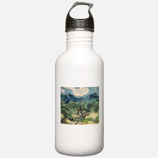 Olive Trees with the Alpilles Water Bottle