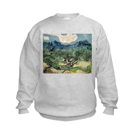 Olive Trees with the Alpilles Kids Sweatshirt