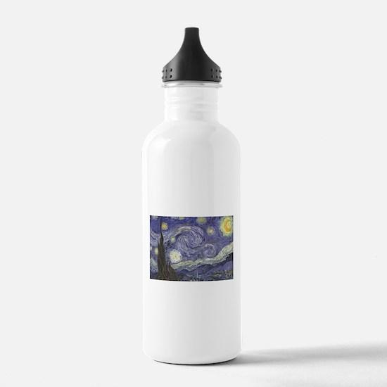Starry Night Water Bottle