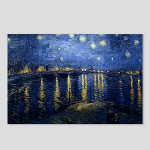 Starry Night Over the Rhone Postcards (Package of