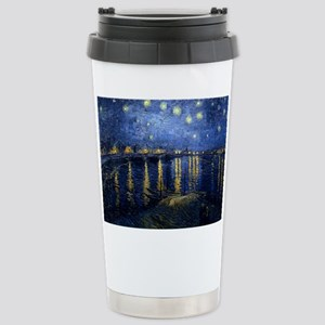 Starry Night Over the Rhone Stainless Steel Travel