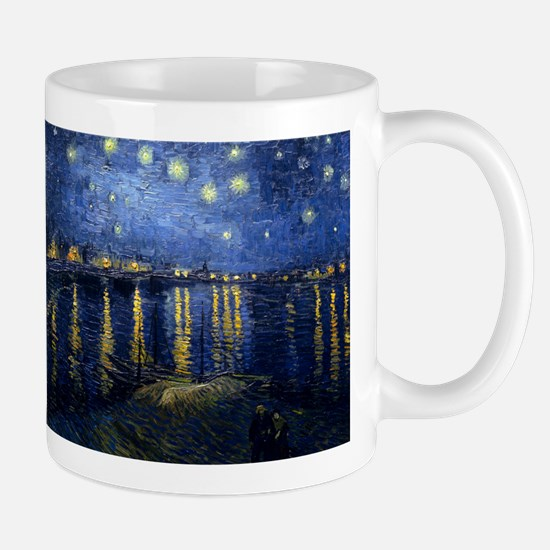 Starry Night Over the Rhone Mug