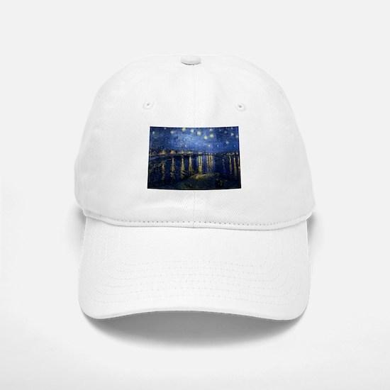 Starry Night Over the Rhone Baseball Baseball Cap
