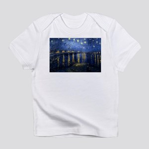 Starry Night Over the Rhone Infant T-Shirt