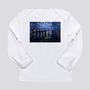 Starry Night Over the Rhone Long Sleeve Infant T-S