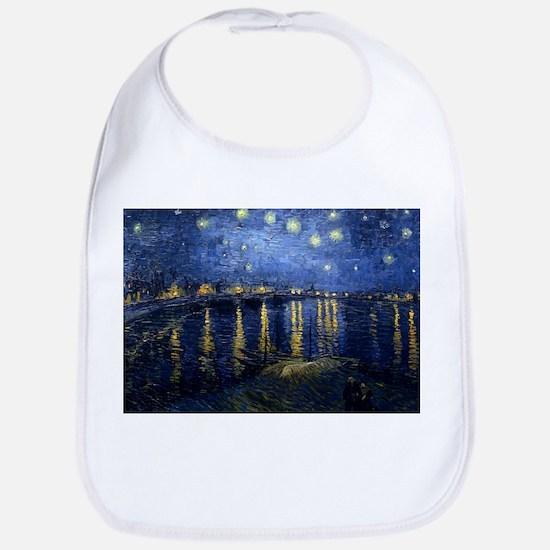 Starry Night Over the Rhone Bib
