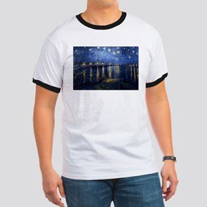 Starry Night Over the Rhone Ringer T