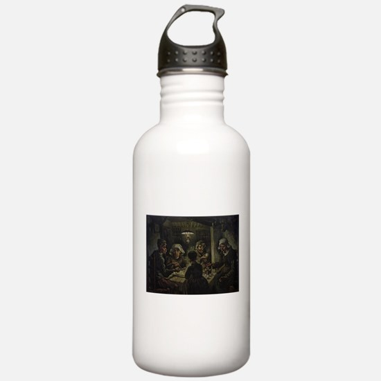 The Potato Eaters Water Bottle