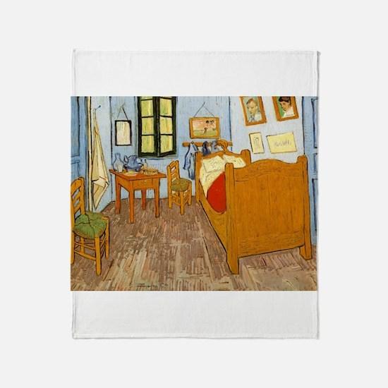 Vincents Room Throw Blanket