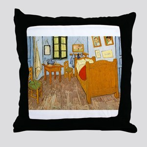 Vincents Room Throw Pillow